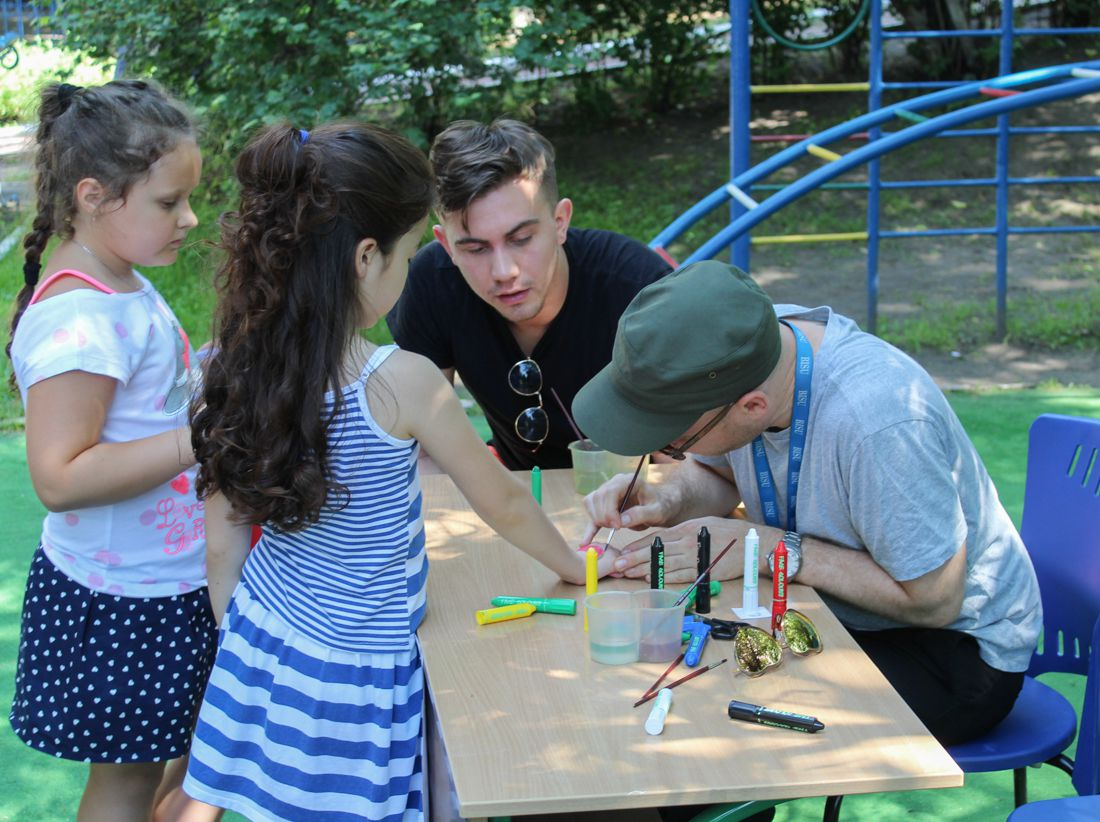 Children's Day and Charity Fun in Dnipro